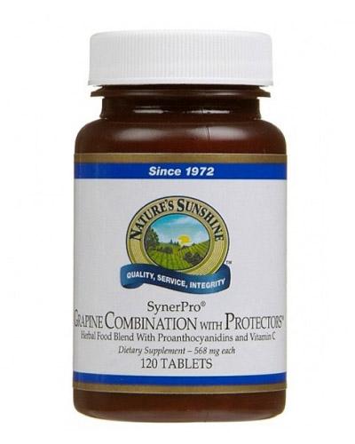 Grapine with protectors – semilla de lino - Colesterol - el salvador - natures sunshine