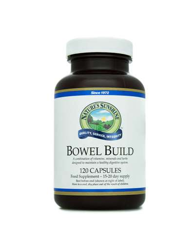 bowel build - natures sunshine el salvador