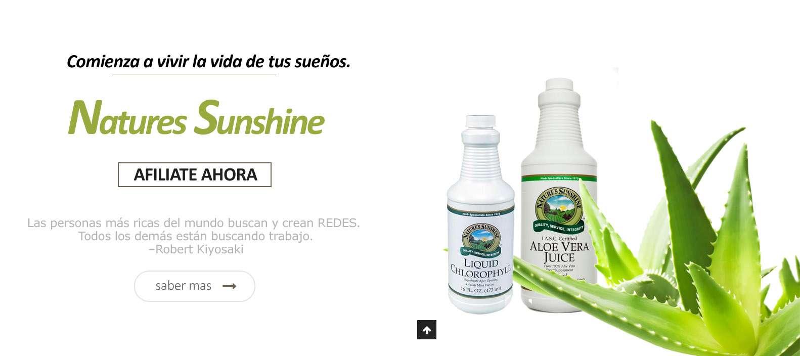 Natures Sunshine El Salvador Medicina Natural Comprobada