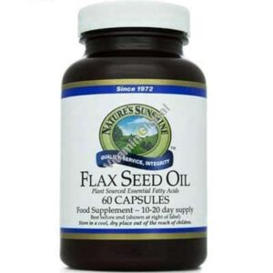Flax seed Oil – semilla de lino - Colesterol - el salvador - natures sunshine