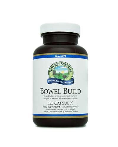 bowel build - natures sunshine el salvador